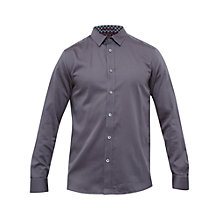 Buy Ted Baker Ronberg Tonal Geo Print Cotton Shirt Online at johnlewis.com