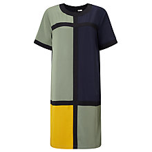 Buy Numph Lyna Colour Block Dress, Multi Online at johnlewis.com