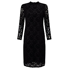 Buy Numph Oribella Lace Dress, Caviar Online at johnlewis.com