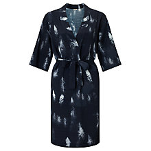 Buy Numph Sebastiane Printed Dress, Caviar Online at johnlewis.com