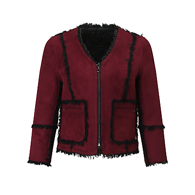 Urbancode Ruby May Reversible Jacket, Burgundy/Black