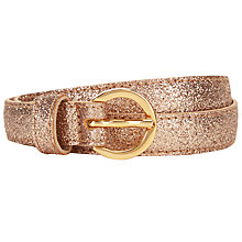 Buy Des Petits Hauts Martina Belt, Gold Online at johnlewis.com