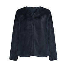 Buy Numph Katalyn Faux Fur Jacket, Salute Online at johnlewis.com