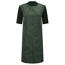 Buy Numph Sylva Faux Suede Dress, Mountain View Online at johnlewis.com