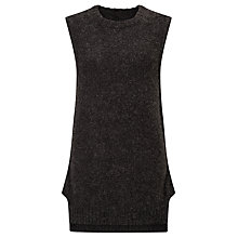 Buy Numph Vespera Sleeveless Jumper, Grey Online at johnlewis.com