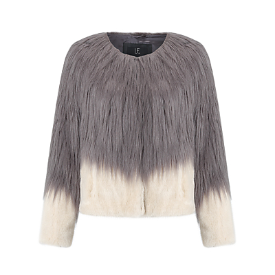 Unreal Fur Fire And Ice Jacket, Charcoal/Champagne