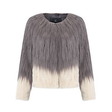 Buy Unreal Fur Fire And Ice Jacket, Charcoal/Champagne Online at johnlewis.com