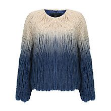 Buy Unreal Fur Pastorale Ombre Jacket Online at johnlewis.com