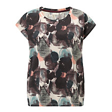Buy Numph Painty Printed T-Shirt, Multi Online at johnlewis.com