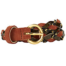 Buy Des Petits Hauts Many Weave Belt Online at johnlewis.com