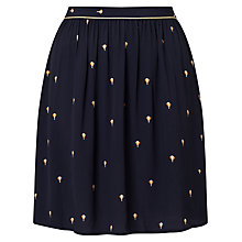 Buy Des Petits Hauts Theonie Skirt, Navy Online at johnlewis.com