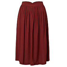 Buy Des Petits Hauts Seguin Skirt, Red Online at johnlewis.com
