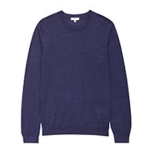 Buy Reiss Hart Merino Wool Jumper Online at johnlewis.com