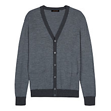 Buy Jaeger Merino Wool Cardigan Online at johnlewis.com
