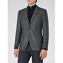 Buy Reiss Stomp Patch Pocket Slim Fit Blazer, Deep Green Online at johnlewis.com