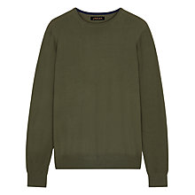 Buy Jaeger Merino Wool Crew Neck Jumper Online at johnlewis.com