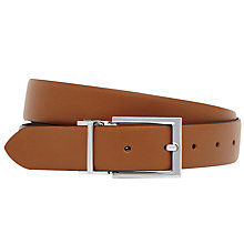 Buy Reiss Ricky Reversible Leather Belt Online at johnlewis.com