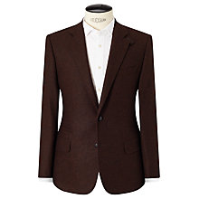 Buy Berwin & Berwin Wool Tailored Suit Jacket, Rust Online at johnlewis.com