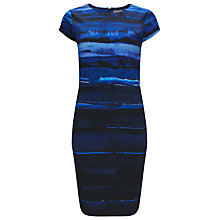 Buy Phase Eight Annika Ombre Dress, Blue/Black Online at johnlewis.com