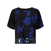 Buy Phase Eight Sacha Embellished Top, Multi Online at johnlewis.com