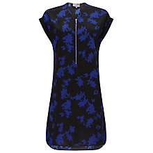 Buy Phase Eight Sacha Printed Tunic Dress, Blue/Black Online at johnlewis.com
