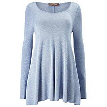 Buy Phase Eight Cali Swing Knitted Jumper, Soft Blue Online at johnlewis.com