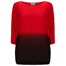 Buy Phase Eight Becca Dip Dye Batwing Jumper Online at johnlewis.com