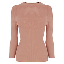 Buy Warehouse Pointelle Jumper Online at johnlewis.com