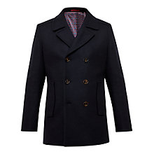 Buy Ted Baker T for Tall Bizatt Wool-Blend Peacoat, Navy Online at johnlewis.com