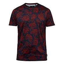 Buy Ted Baker T for Tall Pierott T-Shirt, Dark Orange Online at johnlewis.com