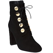 Buy L.K. Bennett Yolanda Ankle Boots, Black Online at johnlewis.com