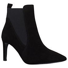 Buy Carvela Get Pointed Toe Ankle Boots, Black Online at johnlewis.com
