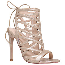 Buy Carvela Gracie Caged Stiletto Sandal Court Shoes Online at johnlewis.com