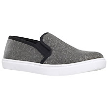 Buy Carvela Jumo Plimsolls, Bronze Online at johnlewis.com