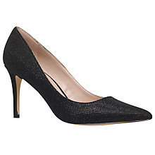Buy Carvela Kray Stiletto Heel Occasion Court Shoes, Black Online at johnlewis.com