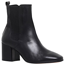 Buy Carvela Schubert Ankle Boots, Black Leather Online at johnlewis.com