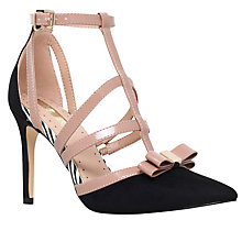 Buy Miss KG Chyna Cut Out Court Shoes, Black Comb Online at johnlewis.com