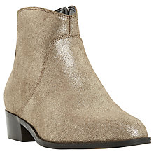 Buy Dune Pearcey Pointed Toe Ankle Boots Online at johnlewis.com