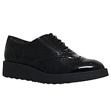 Buy Carvela Lincoln Wedge Heeled Brogues Online at johnlewis.com