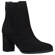 Buy Carvela Samuel Ankle Boots, Black Snake Print Online at johnlewis.com