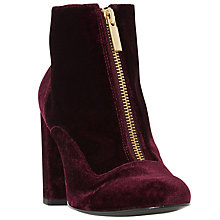 Buy Dune Oldwych Zip Block Heeled Ankle Boots Online at johnlewis.com