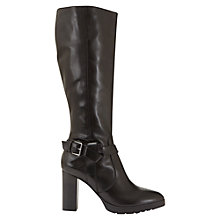 Buy Mint Velvet Cally Knee High Boots, Black Online at johnlewis.com