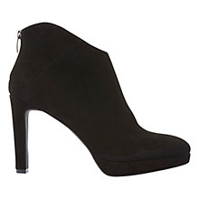 Buy Mint Velvet Selena Ankle Boots, Black Online at johnlewis.com