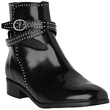 Buy L.K. Bennett Bennett Ava High Shine Chelsea Boots, Black Leather Online at johnlewis.com