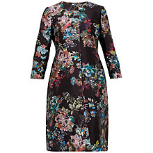 Buy Ted Baker Honibea A-Line Coat, Black Online at johnlewis.com