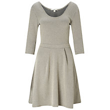 Buy Miss Selfridge Jacquard Scoop Skater Dress, Multi Online at johnlewis.com