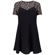 Buy Miss Selfridge Ditsy 2 In 1 Dress, Multi Online at johnlewis.com