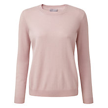 Buy Pure Collection Deanna Cashmere Jumper, Oyster Online at johnlewis.com
