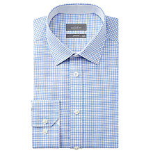 Buy John Lewis Long Sleeve Linen-Blend Gingham Shirt Online at johnlewis.com