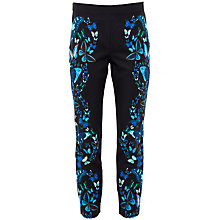 Buy Ted Baker Rorio Butterfly Trousers, Black Online at johnlewis.com